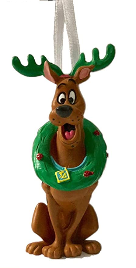 2018 Hallmark Scooby-Doo Reindeer with Wreath Christmas Holiday Ornament - Amazon.com: 2018 Hallmark Scooby-Doo Reindeer With Wreath Christmas