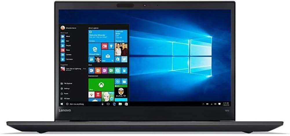 Flagship 2019 Lenovo ThinkPad T570 15-Inch FHD IPS Business Laptop, Intel Dual Core HDMI 802.11ac Bluetooth USB-C FP Reader (i5-6300u-16G-500G-win7 pro)