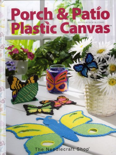 Porch & Patio Plastic Canvas (Craft Free Canvas Patterns Plastic)