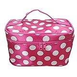 Women cosmetic bag travel makeup make up storage organizer box beauty case
