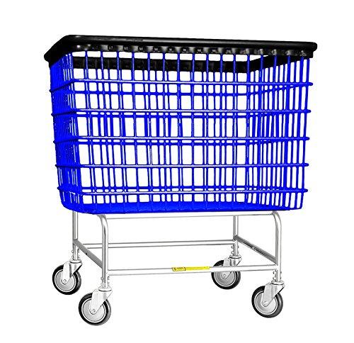 201H R&B Wire 6 Bu. Laundry Cart