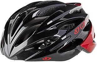 Giro Casco Savant Ruta M sin Visera, color negro/rojo