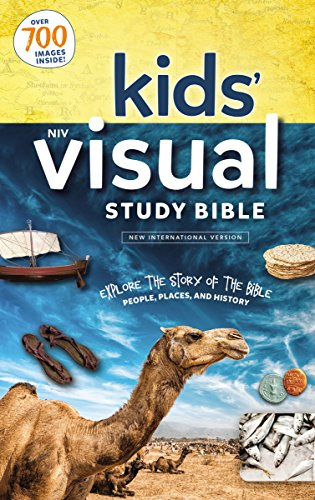 NIV Kids' Visual Study Bible, Hardcover, Full Color Interior
