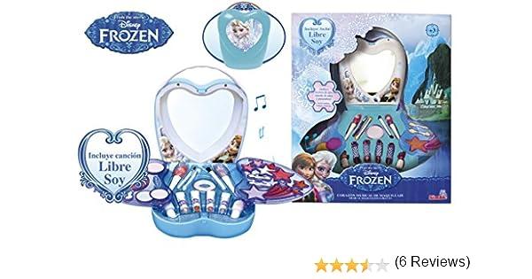 Frozen - Maquillaje en caja corazón musical (Simba): Amazon.es: Bebé