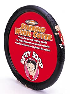 betty boop steering wheel cover automotive. Black Bedroom Furniture Sets. Home Design Ideas