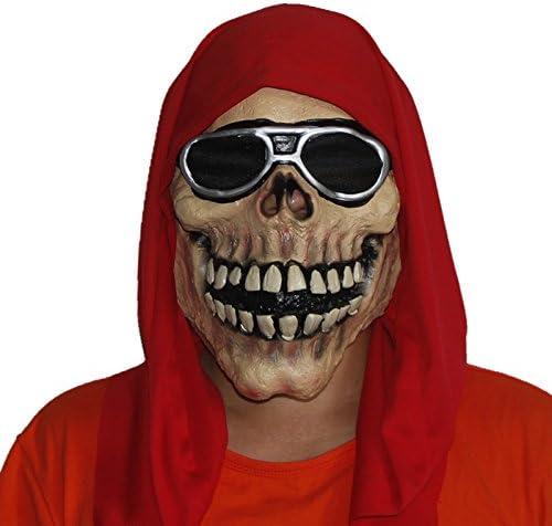 Mascara terror calavera rockera disfraces, moteros, fiestas....de ...