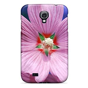 Protective Tpu Case With Fashion Design For Galaxy S4 (pick A Flower)