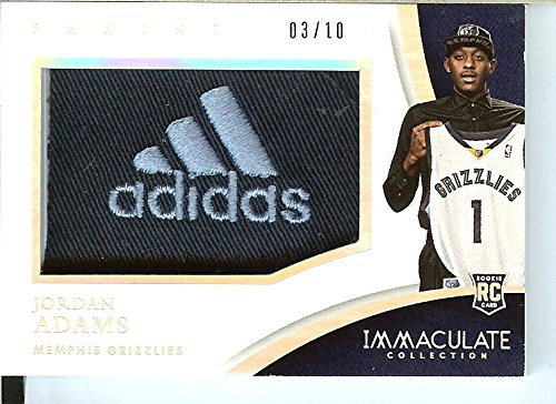 Basketball NBA 2014 panini immaculate #PC-JA Jordan Adams RC Rookie SP MEM … by immaculate