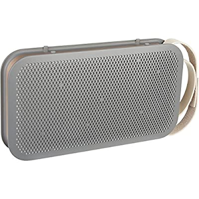 B&O PLAY by Bang & Olufsen 1643773 A2 Active Portable Bluetooth Speaker, Stone Grey