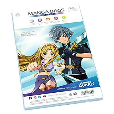 Ultimate Guard Resealable Manga Bags: Toys & Games [5Bkhe1106905]