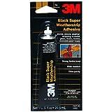 weatherstrip grease - 3M 03602 Black Super Weatherstrip Adhesive, 1 oz. Tube