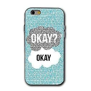 Cubierta Posterior - Otros - para iPhone 6 ( Blanco/Azul , Plástico )