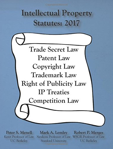 Intellectual Property Statutes 2017 PDF