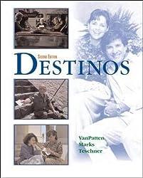 Destinos Student Edition w/Listening comprehension Audio CD, 2nd Edition