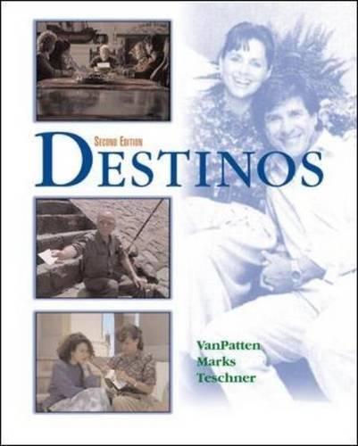 Destinos Student Edition w/Listening comprehension Audio CD, 2nd Edition...