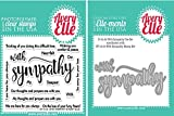 Avery Elle- With Sympathy Stamp and Die Set