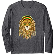 Rasta Lion Long sleeve T-shirt