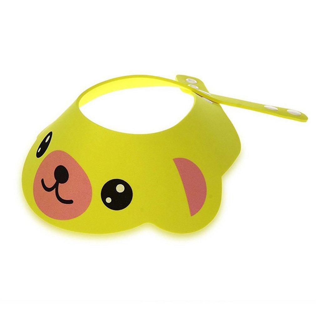 Franterd/® Baby Children Shampoo Shower Bathing Bath Protect Soft Cap Hat Hot pink