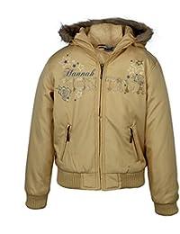 Girls Gold Hannah Youth Jacket