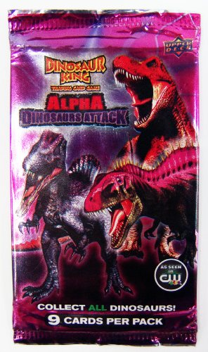 Upper Deck Dinosaur King Alpha Dinosaurs Attack (1