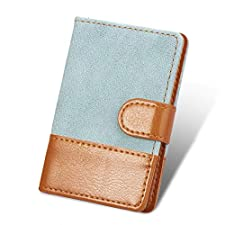 Cell Phone Credit Card Holder Stick On Blue