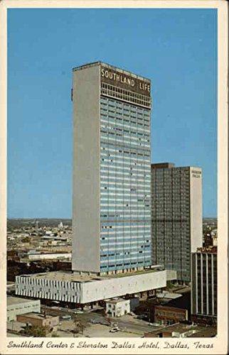 Southland Center & Sheraton Dallas Hotel Dallas, Texas Original Vintage - Southlands Center
