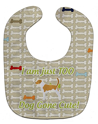 Caroline's Treasures Dog Gone Cute Baby Bib, American Fox...