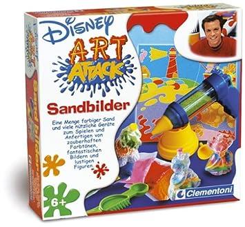 Clementoni 5697205 Art Attack Sandbilder Amazonde Spielzeug