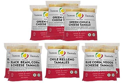 (16 Gourmet Vegetarian Tamales - Tucson Tamale)