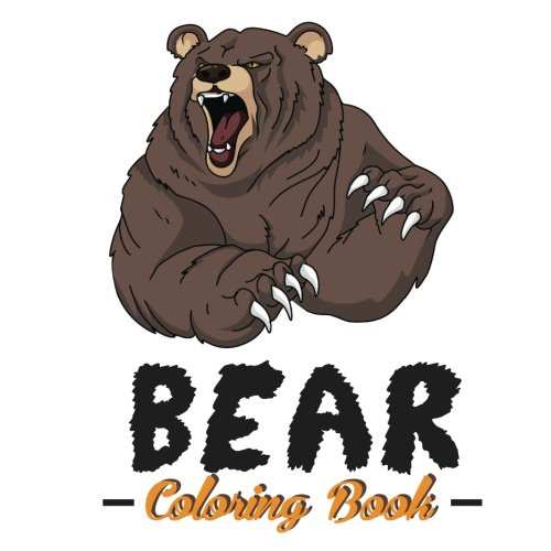 Bear Coloring Book: Coloring Pages for Kids: 9781945287220 ...
