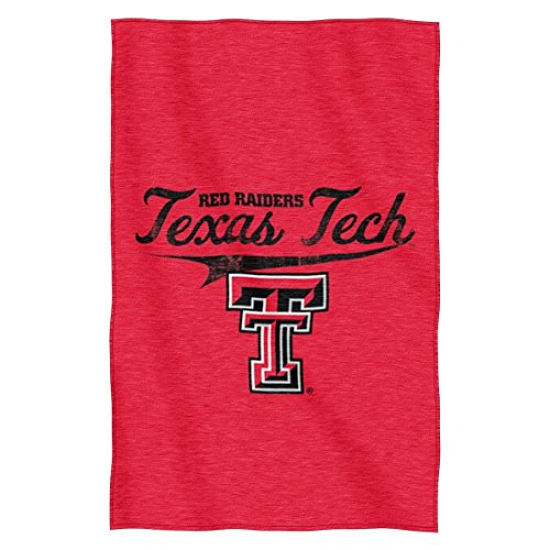 (NCAA Texas Tech Red Raiders Script Sweatshirt Throw, 54