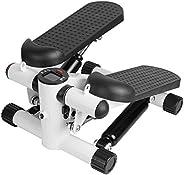 Lolicute Elliptical Trainer Mini Stepper Mini Fitness Stepper Mini Elliptical Foot Pedal Stepper Household Min