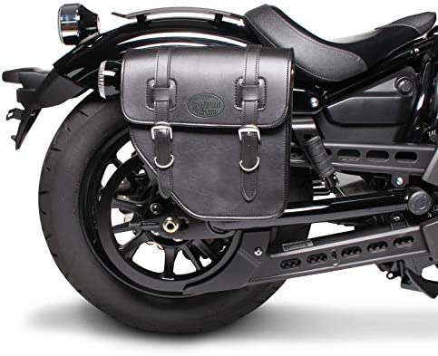 XSR 700 schwarz rechts Satteltasche 10L f/ür Yamaha XSR 900