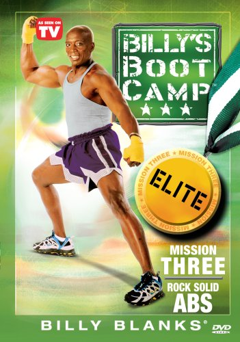 Bootcamp Elite Mission Three: Rock Solid Abs ミッション3 腹筋を割れ![DVD]