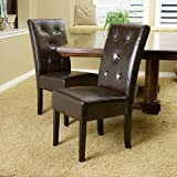 Christopher Knight Home 238599 Taylor Dining Chair (Set of 2), Chocolate Brown Review