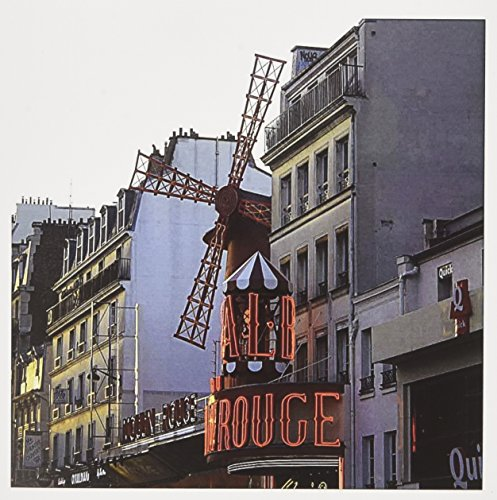 - 3dRose The infamous Moulin Rouge before another night of amazing shows - Greeting Cards, 6 x 6 inches, set of 12 (gc_38327_2)