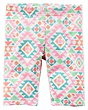 Carter's Girl's Southwest Print Playground Shorts; Pink (5)