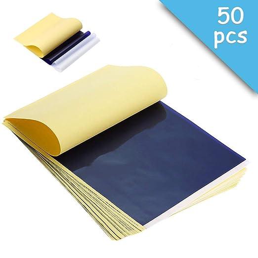 50 unidades de papel térmico para impresora de tatuaje de 11.7 x ...