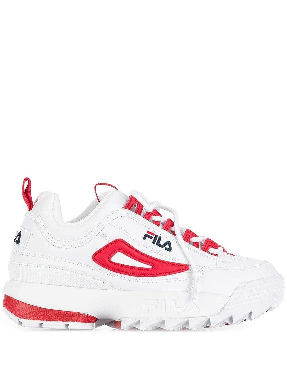 Fila, Sneaker Donna Rosso Rosso EU Rosso Size: 37.5 EU