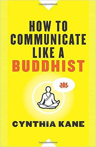 Amazon com: How to Communicate Like a Buddhist (9781938289514
