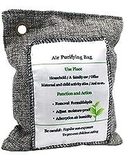KKmoon Charcoal Bag Air Purifying Bag Odor Eliminator Fragrance Free Odor Absorber Captures and Eliminates Odors 200g