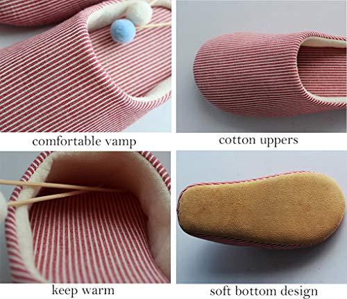 Bottom Hiver Pantoufles Coton Acmede Intérieur Chaud À Kaki Chaussures Doux Soft Peluche Mémoire Mousse En Hommes Chambre ZwgOx8