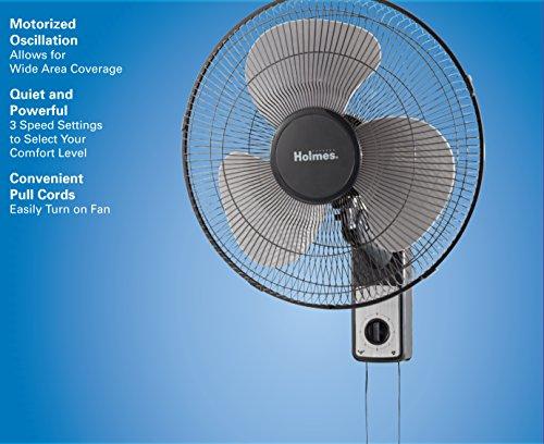 Holmes Wall-Mountable Fan, 16