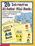 Interactive Alphabet Mini Book, Mary Beth Spann, 0590365061