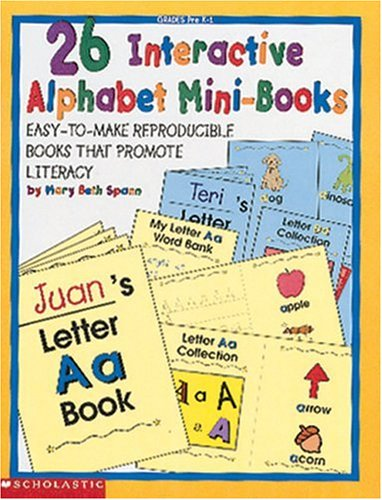 26 Interactive Alphabet Mini-Books (Grades PreK-1) (Alphabet Mini Books)