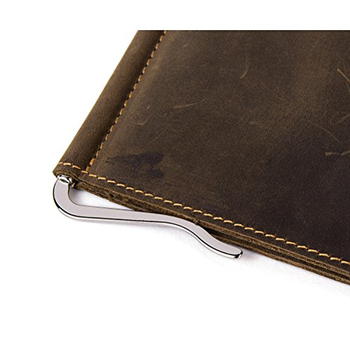 Zhhlaixing Unisex Herren Damen Vintage Soft PU-Leder Geldbörsen Minimalist Multi-card Slots Pouch Purse-Brown