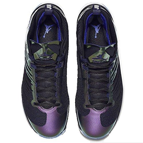 Nike 844677-012, Scarpe da Basket Uomo Nero (Black / Concord / White)