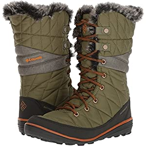Columbia Heavenly Omni-Heat Boot - Women's Zuc/Bright Copper, 7.5