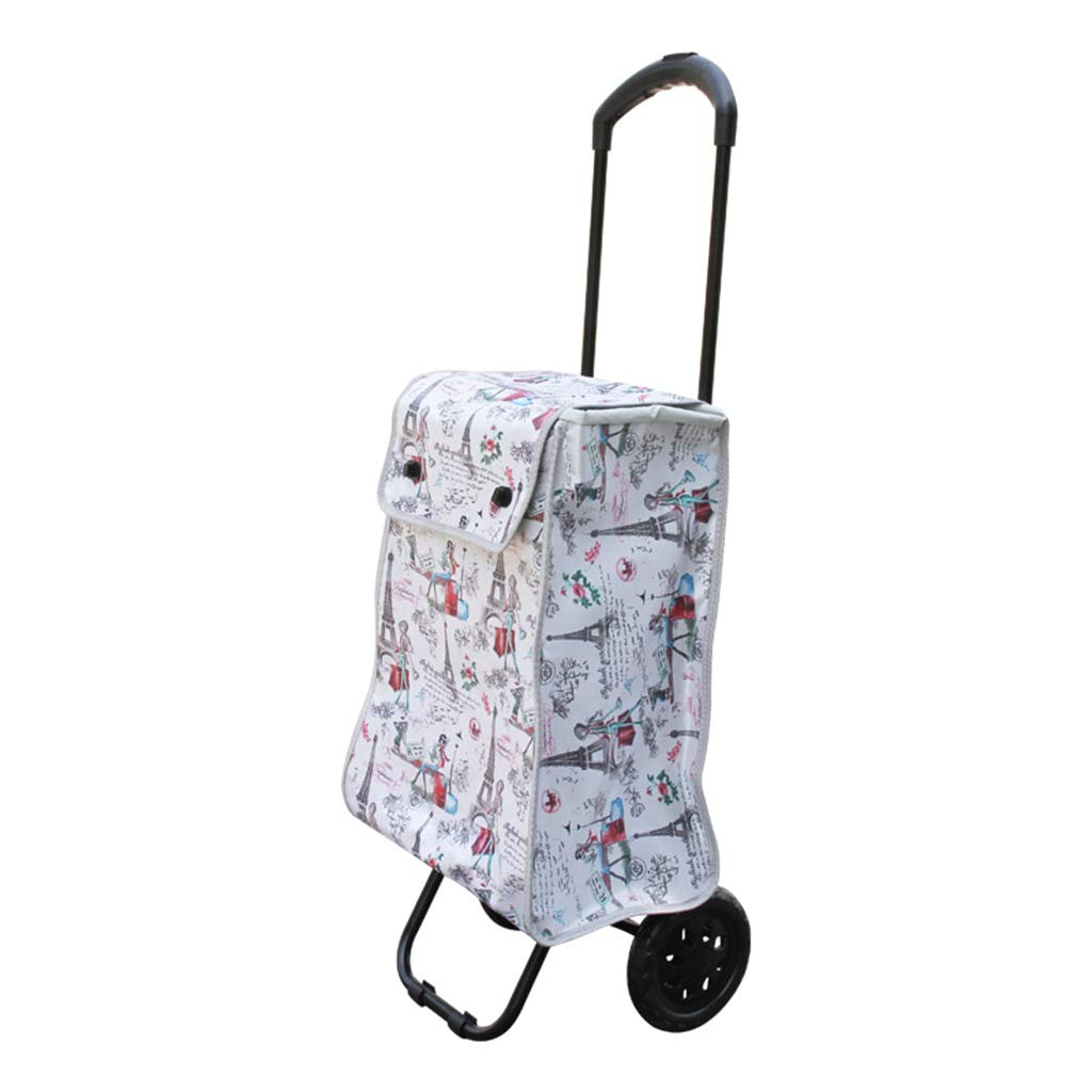 shopping cart Grocery shopping cart trolley Portable shopping cart Travel storage bag luggage Telescopic trolley