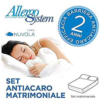 Allergosystem Nuvola Allergie Bettwäsche Set Matratzenbezug
